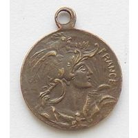 Памятная медаль российской выставке в Париже лаборатория Zenol 1910 год