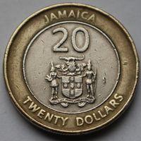 Ямайка, 20 долларов 2001 г.