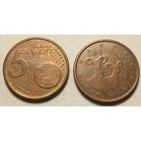 Кипр, 5 евроцентов 2008