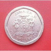 63-15 Ямайка, 5 долларов 1996 г.