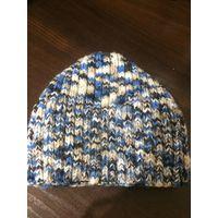 Зимняя шапка шерстянная