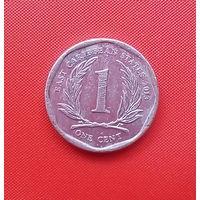 55-40 Восточные Карибы, 1 цент 2013 г.
