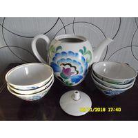 Сервиз чайный на 6 персон (СССР)