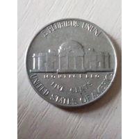 США 5 центов 1962г./без буквы/