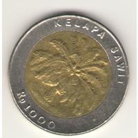 1000 рупий 1996 г.