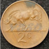 44:  2 цента 1973 ЮАР