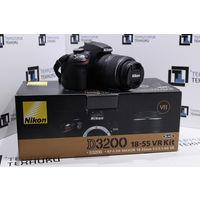 Зеркальная камера Nikon D3200 Kit 18-55mm VR (24.2Мп, Full HD). Гарантия