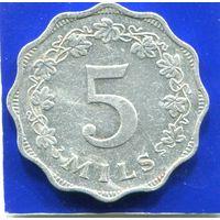 Мальта 5 милс 1972