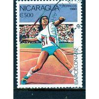 Никарагуа.Легкая атлетика.Олимпийские игры.Барселона.1992.