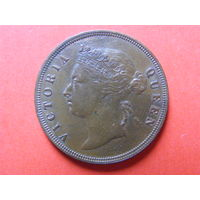 1 цент 1887 года Стрейт