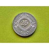 Нидерландские Антильские острова. 25 центов 2007.