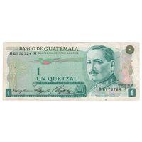 Гватемала 1 кетцель 1975 года. Нечастая!