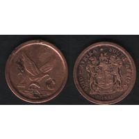 Южная Африка (ЮАР) km133 2 цента 1991 год (b06)