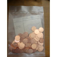 Республика Беларусь 5 копеек 2009 г. 100 шт. ЗАПАЙКА