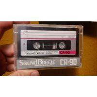 Аудиокассета Sound Breeze CR-90 (новая)