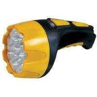 Фонарь Ultraflash LED3815 (аккумулятор 220В, черный/желтый, 15 LED, 2 режима, SLA, пластик).