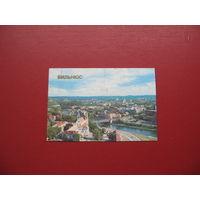 Календарик Вильнюс 1986 год