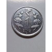 Индия 1 рупия 2013