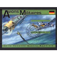 B30 - 1 шт. - Гвинея - CTO - Мессерсмит Bf 109 - самолеты - Авиация - зубчатый - 2011