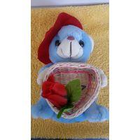 Мишка Игрушка 20 см Подарок День Св.Велентина День рождения 8 Марта