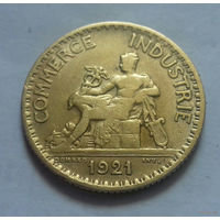 1 франк, Франция 1921 г.