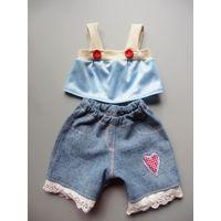 Одежда для куклы беби борн 43 см