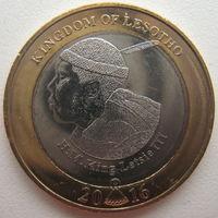Лесото 5 малоти 2016 г. 50 лет Независимости