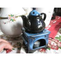 Аромалампа чайник с подогревом свечёй Бавария