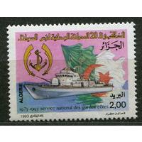 Катер береговой охраны. Алжир. 1993. Полная серия 1 марка. Чистая
