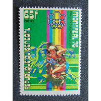 Сенегал 1976г. Спорт.