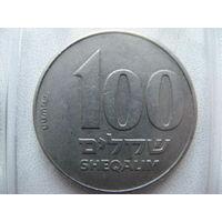 Израиль 100 шекелей 1984 г.