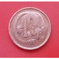 62-13 Австралия, 1 цент 1974 г.