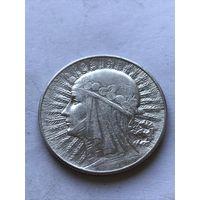 5 злотых 1933 - c  1 рубля