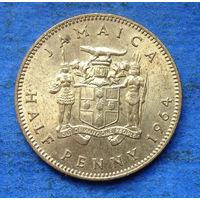 Ямайка Британская колония 1/2 пенни 1964