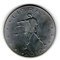 Сомалиленд 10 шиллингов 2012 года.Весы.