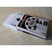 Карты игральные для покера. Набор карт для покера. Бумага и пластик. От одной до трех колод