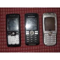 Сони Эрикссон Sony Ericsson 3 шт в ремонт или на запчасти
