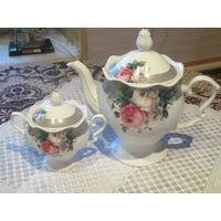 Чайник и сахарница Lillo luxuary collection