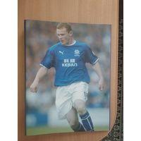 Rooney(Руни).Фирменная папка для файлов.Времён начала футбольной карьеры в Эвертоне.
