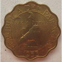 Парагвай 50 сентимо 1953 г. (gl)