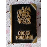 "Карманная пепельница ""Кодекс курильщика"", бронза, раритет, Европа, 6х4,5х2 см."