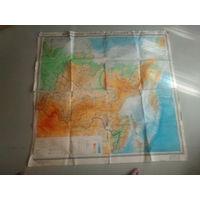Карта сибирь и дальний восток