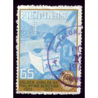 1 марка 1973 год Филиппины 1090