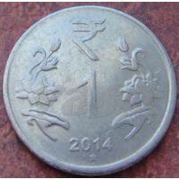 5525:  1 рупия 2014 Индия