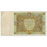 Польша 50 злотых 1929 год.