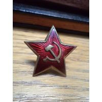 Звезда-кокарда обр. 1943
