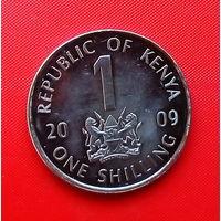 05-31 Кения, 1 шиллинг 2009 г.