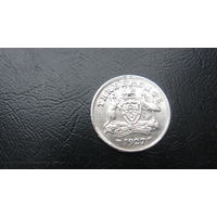 Австралия 3 пенса 1927 ( серебро)