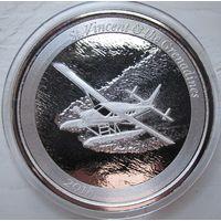 Сент Винсент и Гренадины, 2 доллара, 2018, серебро (Седьмая монета серии 'EC8')