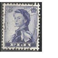Фиджи. Королева Елизавета II. 1954г. Mi#129.